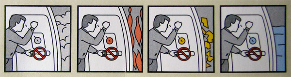Boeing 757 safety guide detail